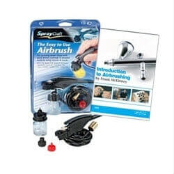 Spraycraft Easy-to-Use Airbrush + Introduction to Airbrushing DVD