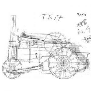 Agricultural Traction Engine TE17