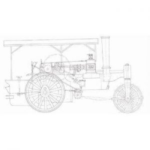 Aveling And Porter Road Roller TE14