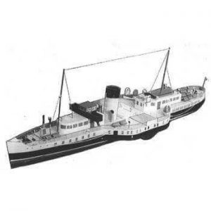 Marchioness Of Lorne  Paddle Ship MM1242 Plan