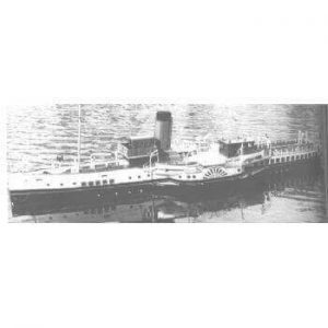 Bournemouth Queen Paddle Ship MM1375 Plan