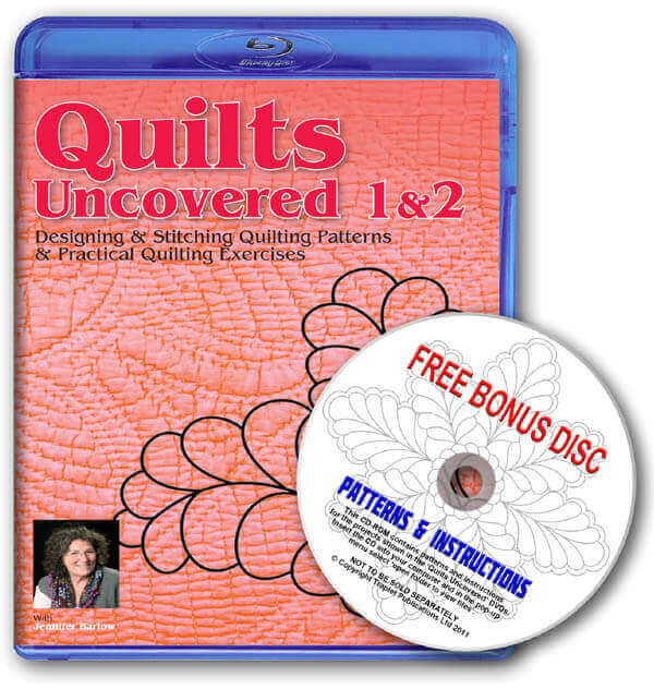 Quilts Uncovered 1 and 2 Boxset Blu-Ray