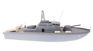 Fast Attack Craft Boat Kit|||||